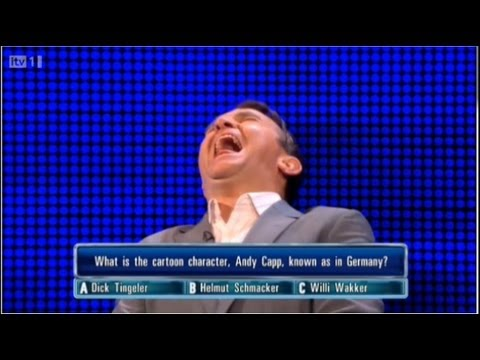 The Chase ITV1 - Dick Tingeler - Bradly Walsh Can't stop Laughing 07/10/2012