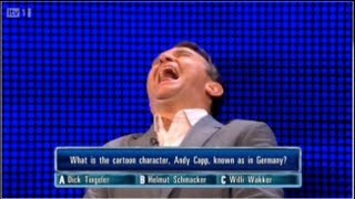 The Chase ITV1 - Dick Tingeler - Bradly Walsh Can