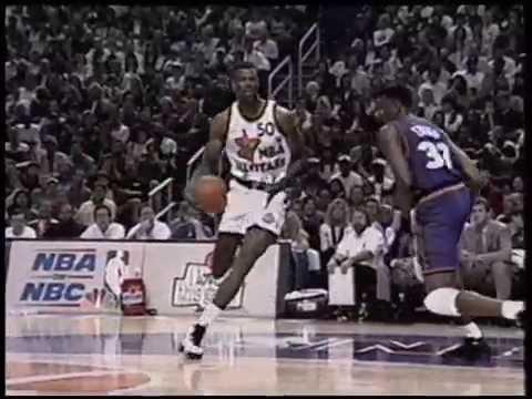 David Robinson - 1995 NBA All-Star Game Highlights
