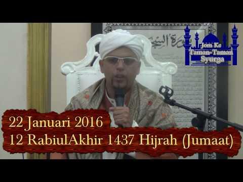 22 Jan 2016 : Al Habib Hamid Naufal Bin Alwy Al Kaff