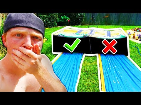 DON'T SLIDE THROUGH THE WRONG MYSTERY SLIP 'N SLIDE!