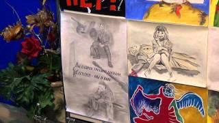 Неправильные рисунки донецких детей