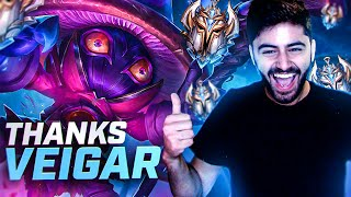 Yassuo | VEIGAR CARRIES ME TO CHALLENGER!