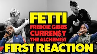 FREDDIE GIBBS, CURREN$Y & THE ALCHEMIST - FETTI REACTION/REVIEW (Jungle Beats)