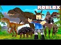 Capturing All Dinosaurs Roblox Jurassic World Simulator