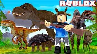 CAPTURING ALL DINOSAURS! (Roblox Jurassic World Simulator)
