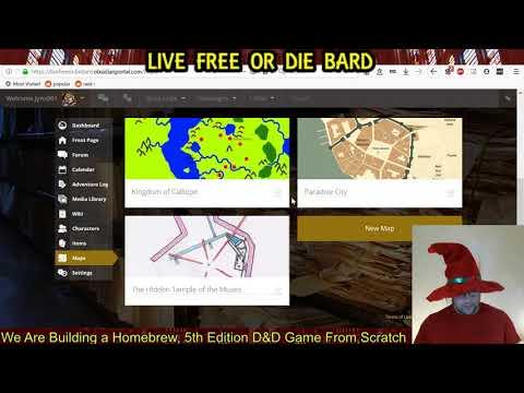 Live Free Or Die Bard Ep8 -- Dungeoneer Design