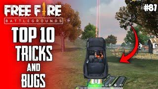 Top 10 New Tricks In Free Fire | New Bug/Glitches In Garena Free Fire #81