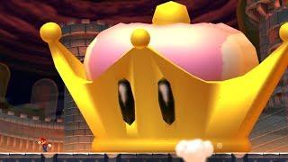 New Super Mario Bros U Deluxe - Super Crown Final Boss & Ending