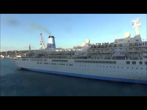 Thomson Celebration gives Celebrity Eclipse a send off in Barbados
