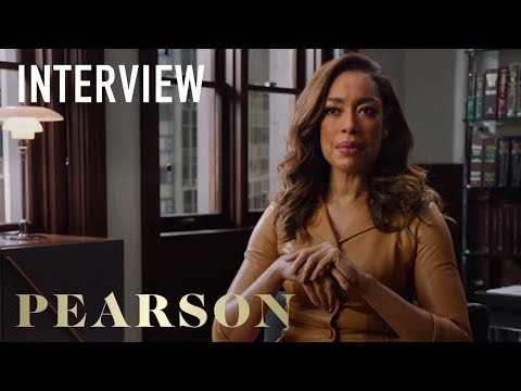 Pearson | Gina Torres Interview | on USA Network