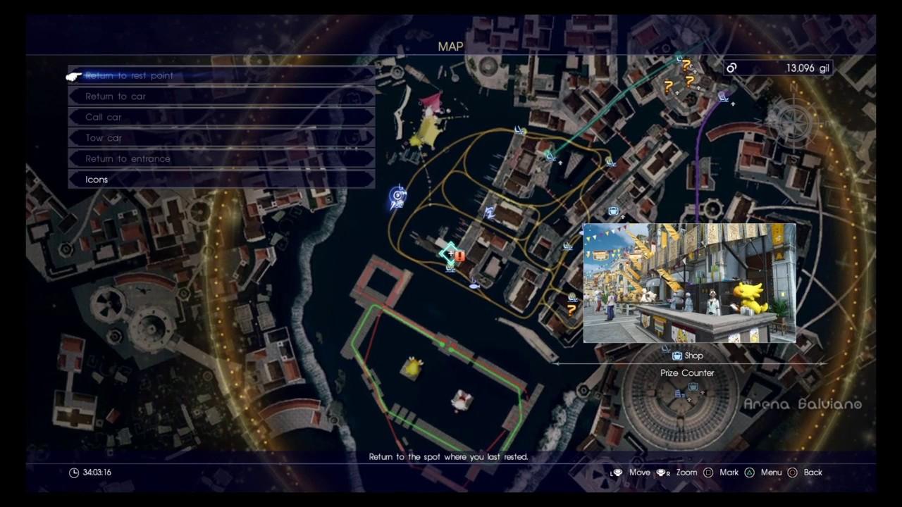 Final fantasy xv chocobo moogle carnival fishing for Final fantasy 15 fishing guide