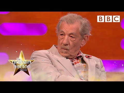 Ian McKellen's looking for his inner pussy - BBC