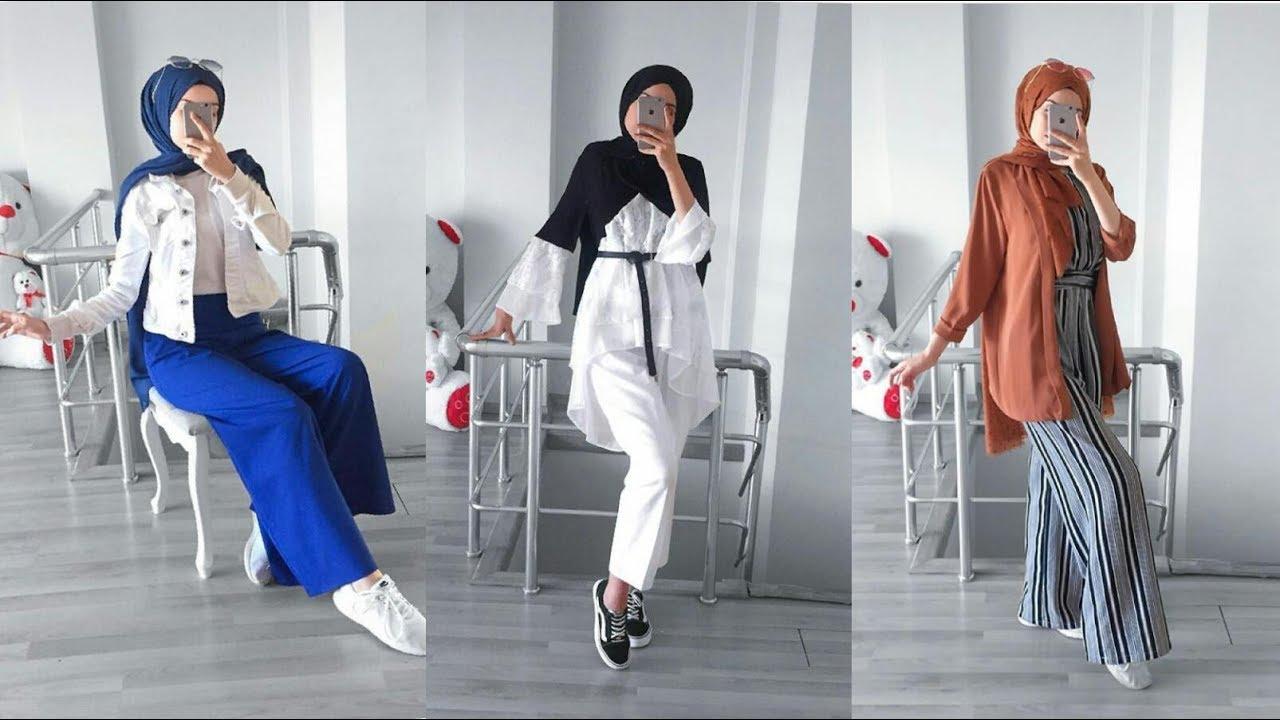 [VIDEO] - هذه أحدث تنسيقات حجاب صيف 2019 Fashion hijab 5