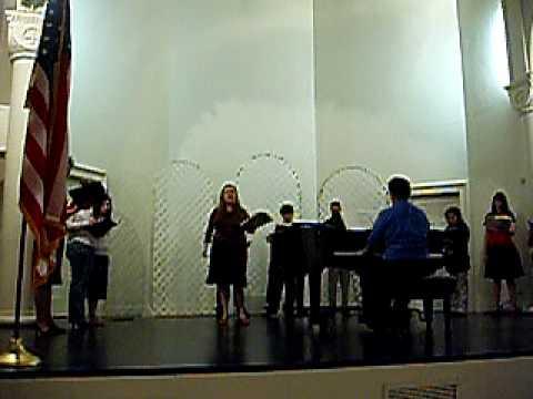 Pamela Trahan singing Pirates of Penzance