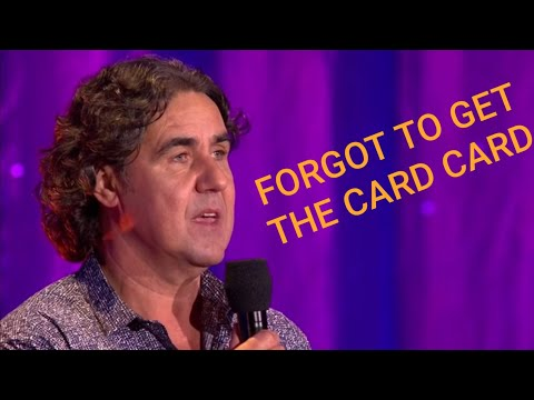 Mickey Flanagan 'FORGOT TO GET THE CARD CARD' Sketch