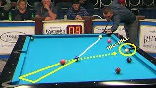 LUCKY POOL SHOTS! US Open 9-ball 2017