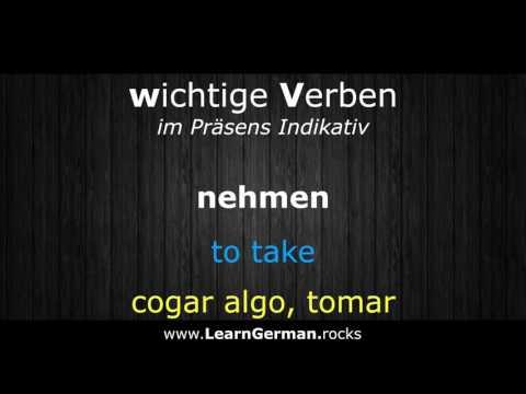 Deutsch: unregelmäßige Verben im Präsens konjugieren from YouTube · Duration:  7 minutes 26 seconds