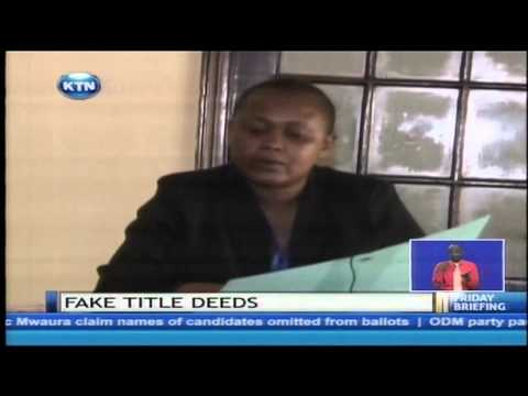 Fake title deeds syndicate busted in Kajiado