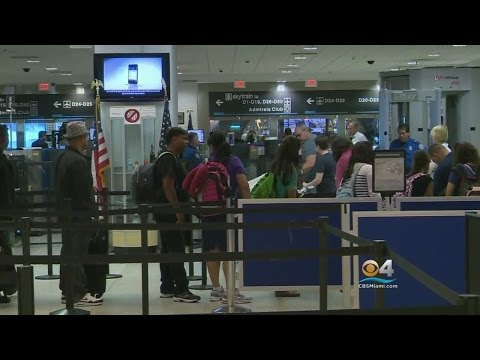 South Florida's Major International Airports Could Be Impacted By Electronics Ban