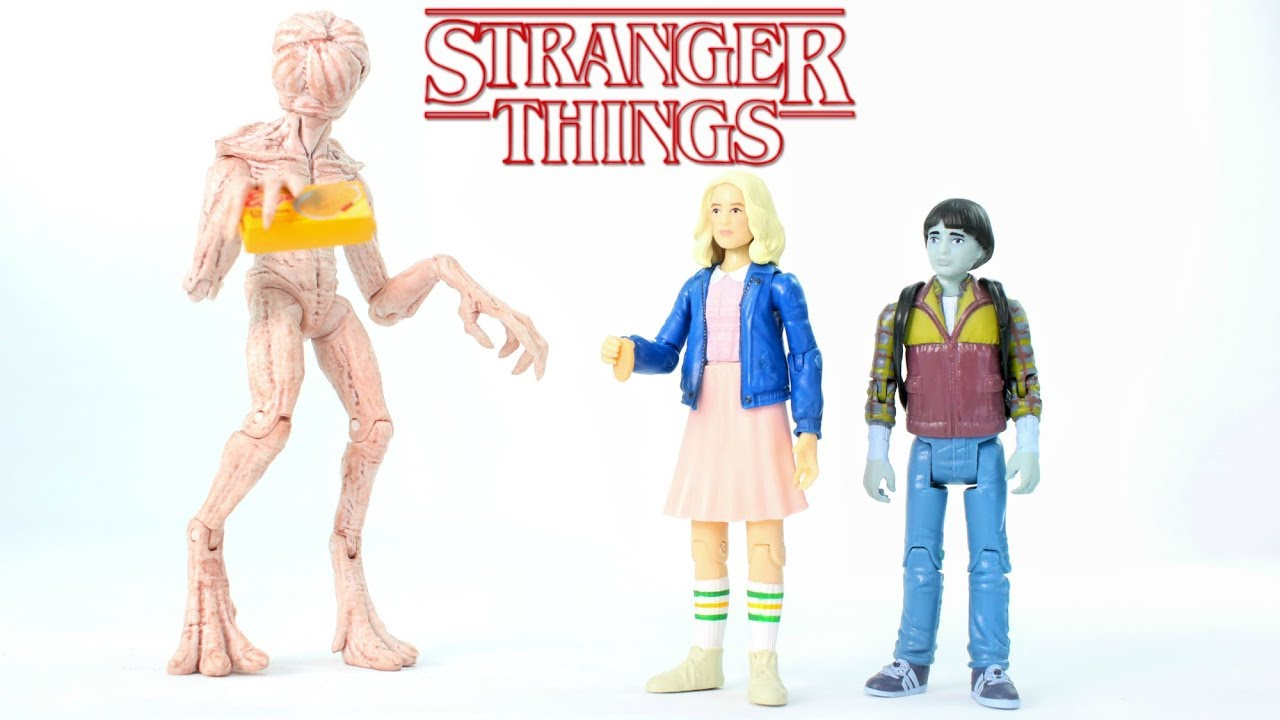 "FUNKO STRANGER THINGS 3.75/"" MINI ACTION FIGURES"