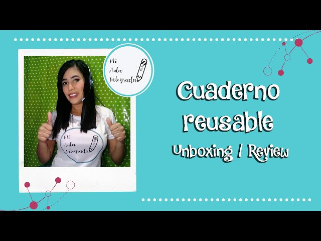 Cuaderno reusable (unboxing / review)