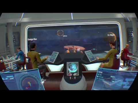 Star Trek Bridge Crew PlayStation VR with Calexus