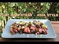 Flat Iron Steak - Asia Style