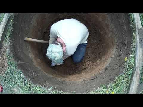 Как копать колодец одному