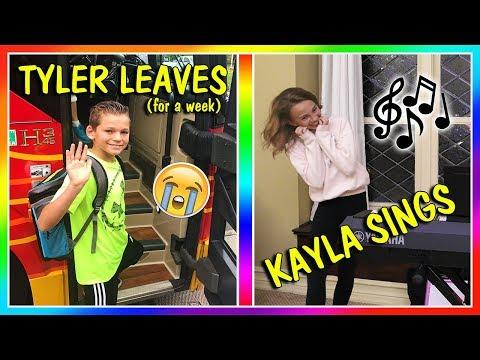 GOODBYE TYLER | KAYLA TRIES SINGING | We Are The Davises