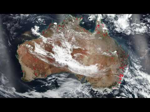 Australia's Deadly Wildfires Seen From Space - Dec. 1 To Jan. 6