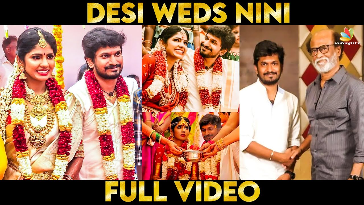 Download Video: Niranjani ❤️ Desingh Periyasamy Dream Wedding Moments   kannum kannum kollaiyadithaal, Rajini