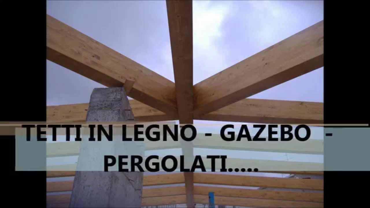 Tetti in legno gazebo pergolati youtube for Gazebo in legno bricoman