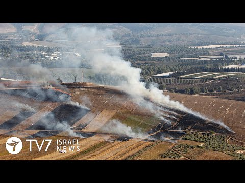 Exchange of Fire On Israeli-Lebanon Border - TV7 Israel News 02.09.19