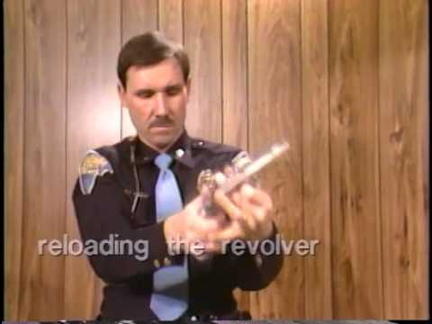 Indiana State Police 1988 Training with a Speedloader