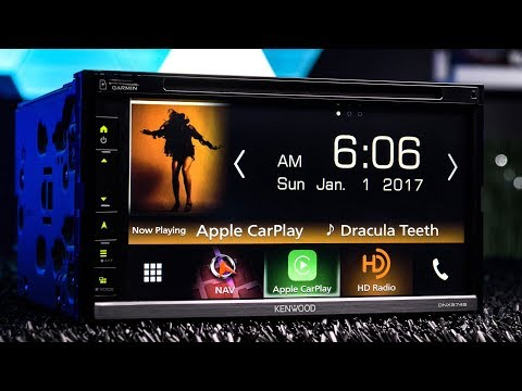 Kenwood DNX574S - Navigation, Apple Carplay and Android Auto
