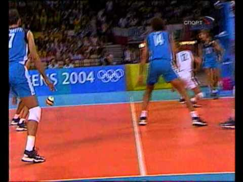 Brazil - Italy 29.08.2004 Olympic tournament final, Athens