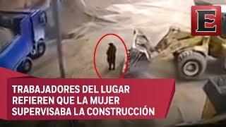 6d077d9563b Muere mujer al ser levantada por excavadora