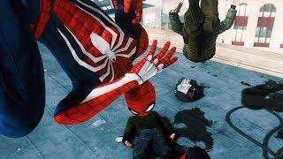УЛИЧНЫЕ РАЗБОРКИ В НЬЮ ЙОРКЕ С ВОЛОДЕЙ в Человек Паук на PS4 Прохождение Marvel's Spider Man ПС4