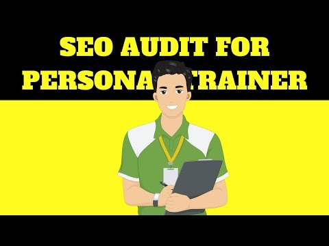 SEO Audit for Local Personal Trainer