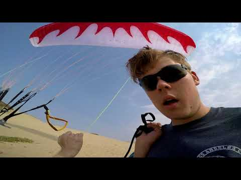 Paramotor Masters Soar Sand City!! The Dominator Rules The Sky For Both Motoring and Free Flight!!