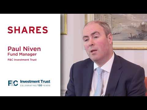 Paul Niven, Fund Manager at F&C Investment Trust