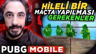 HİLELİ MAÇLAR İÇİN TAKTİKLER - PUBG Mobile