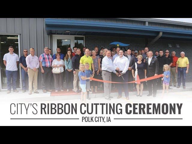 CITY's Ribbon Cutting Ceremony, Polk City, IA