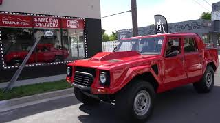 Worlds greatest SUV? Inside the Lamborghini LM002!     Curated Films
