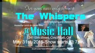 The Whispers live in Concert 2015