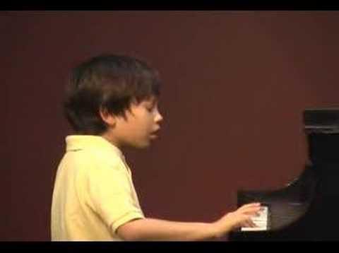 Kyle Leo first piano recital