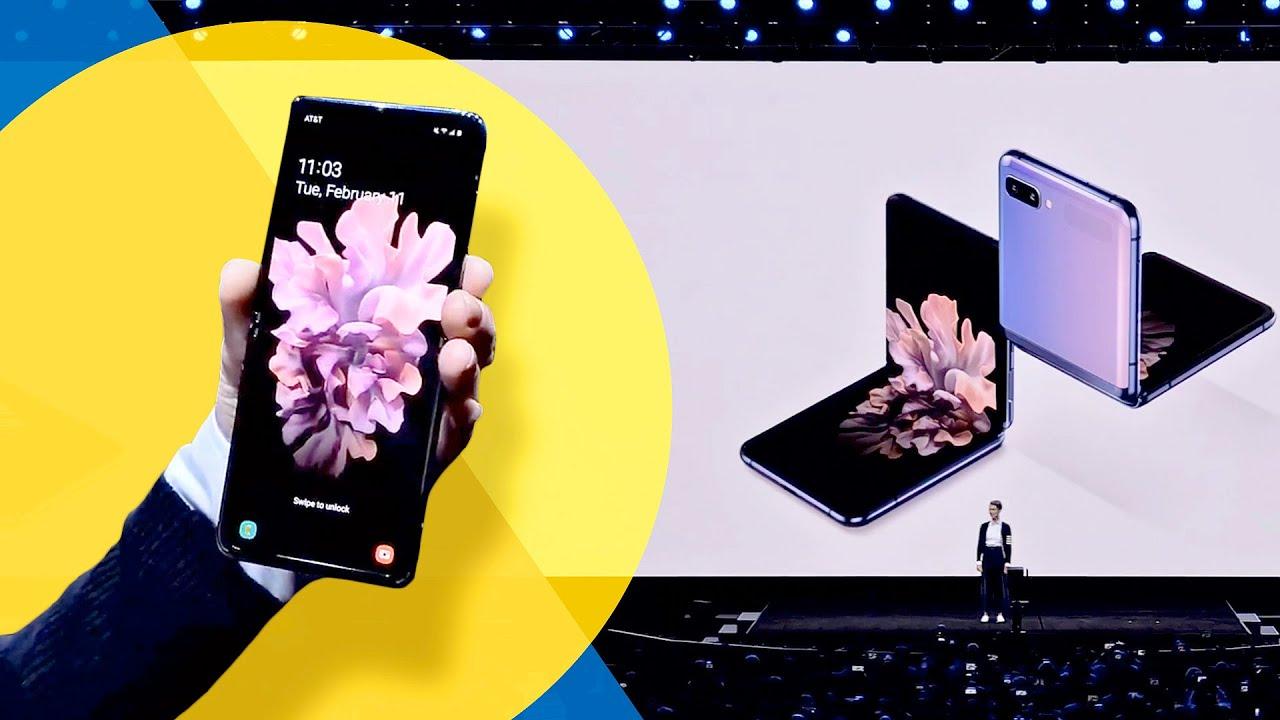 Galaxy Z flip BIG REVEAL: Samsung presenta il suo nuovo telefono pieghevole thumbnail