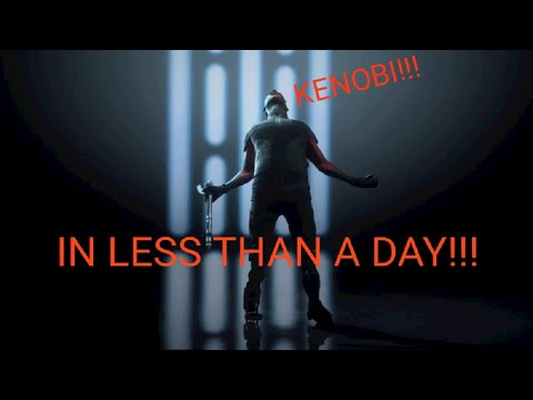 How To Unlock  The 'Kenobi' Emote In Less Than A Day!!! : Star Wars Battlefront 2