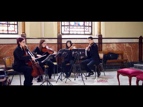 New York New York string quartet Cuarteto de Cuerda Musical Mastia Bodas wedding